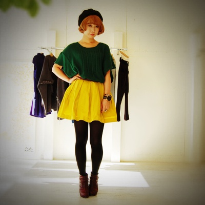 Colorful Knit byMiyuki_f0053343_17311520.jpg