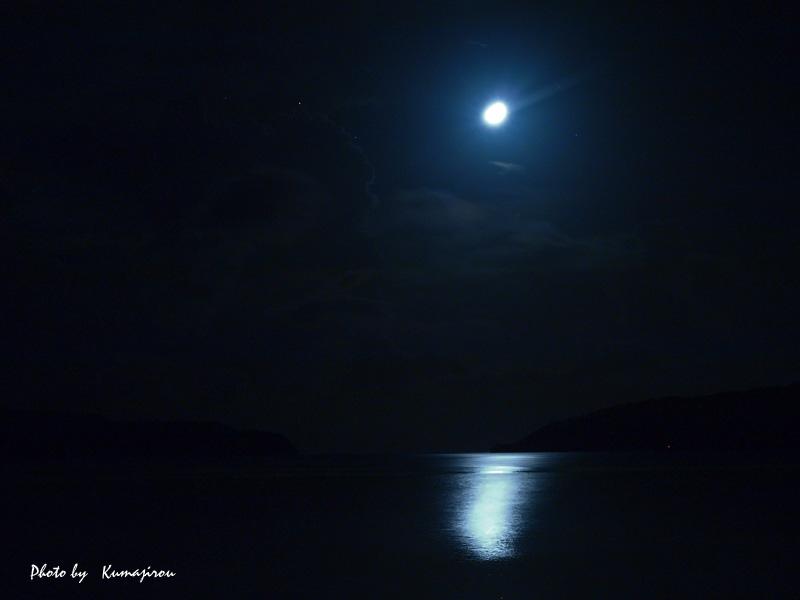 西表で見た月_b0192746_21435296.jpg