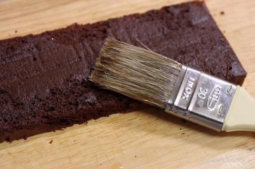 パウンド型で生チョコケーキ☆作り方レシピ付き☆_d0098954_16372455.jpg