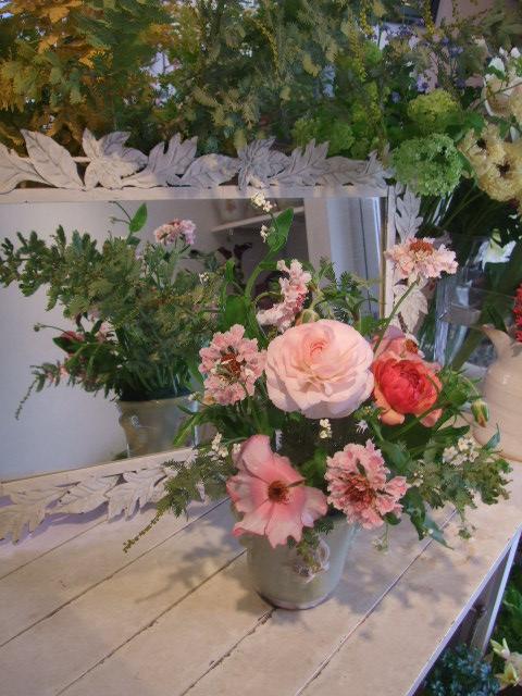 オークリーフ花の教室(中山さんと島崎さんの作品)_f0049672_15451778.jpg