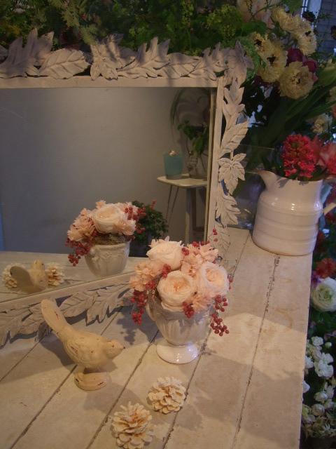 オークリーフ花の教室(中山さんと島崎さんの作品)_f0049672_163488.jpg