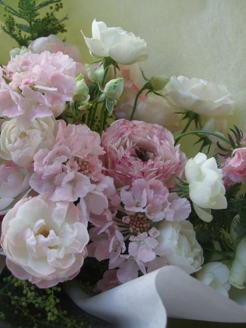 オークリーフ(ラナンキュラスの花束)_f0049672_17173794.jpg