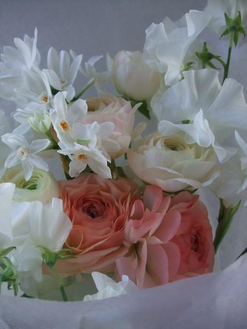 オークリーフ(ラナンキュラスの花束)_f0049672_17175275.jpg