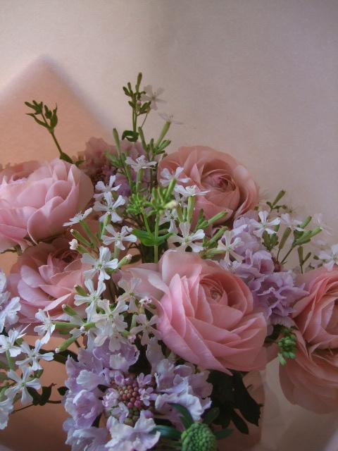 オークリーフ(ラナンキュラスの花束)_f0049672_1717547.jpg