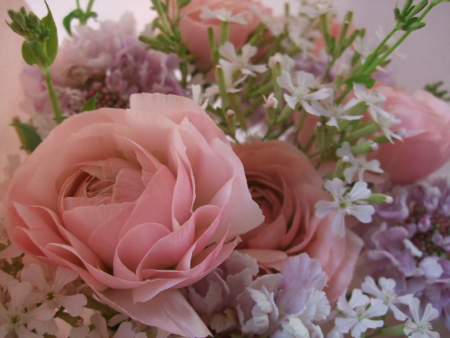 オークリーフ(ラナンキュラスの花束)_f0049672_1718879.jpg