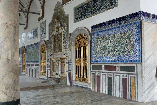 トルコ旅行  イスタンブール トプカプ宮殿_e0154202_23454290.jpg