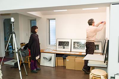 DGSM Print「7人の写真家」展 vol.2の展示作業!_b0194208_22525432.jpg