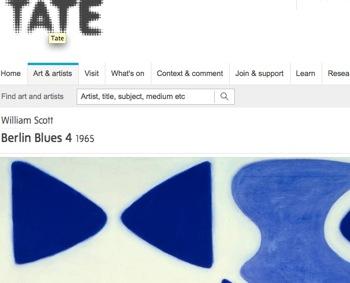 ウィリアム・スコット展 William Scott Tate #art #artweet #contemporaryart #museum #painter _b0074921_1574432.jpg
