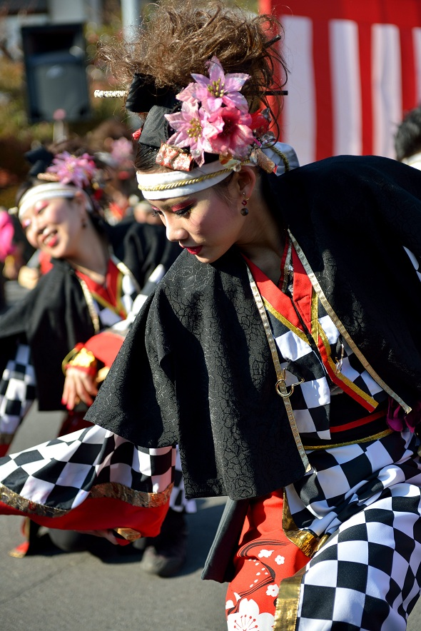 第14回吾妻さんよさこいパレード「銀輪舞隊」_f0184198_22252052.jpg
