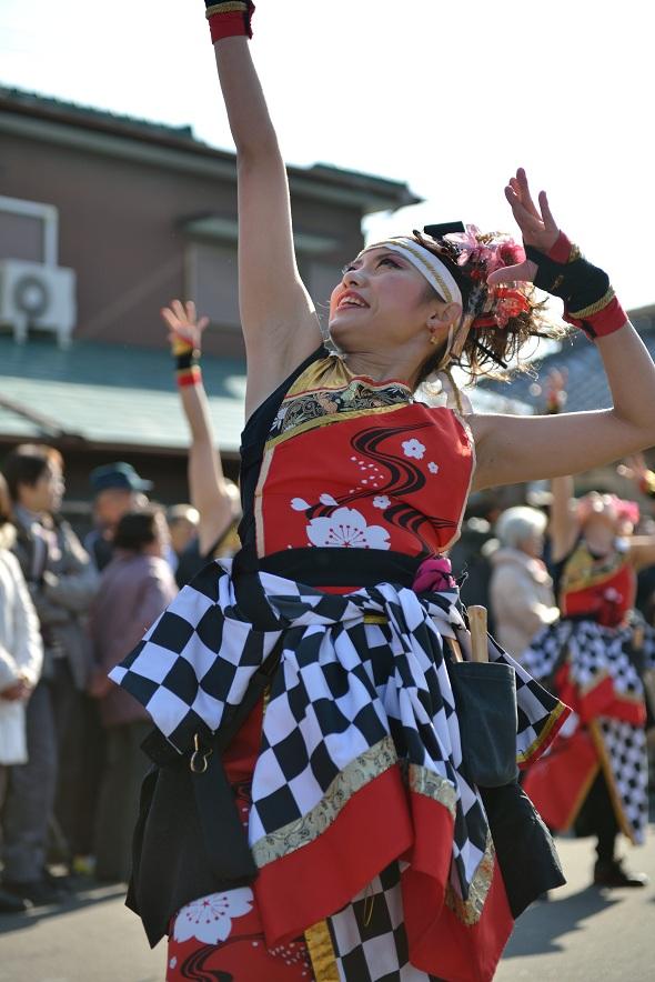 第14回吾妻さんよさこいパレード「銀輪舞隊」_f0184198_22253080.jpg