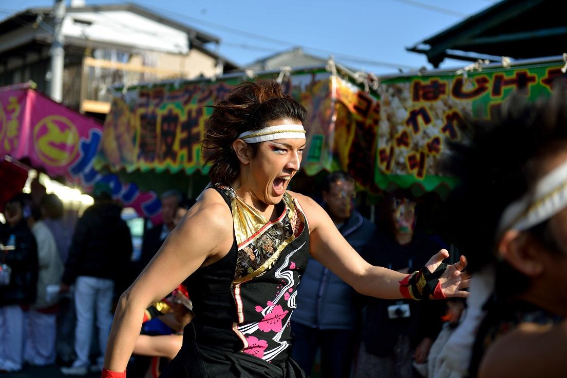 第14回吾妻さんよさこいパレード「銀輪舞隊」_f0184198_22254049.jpg