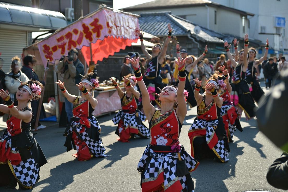 第14回吾妻さんよさこいパレード「銀輪舞隊」_f0184198_22254559.jpg