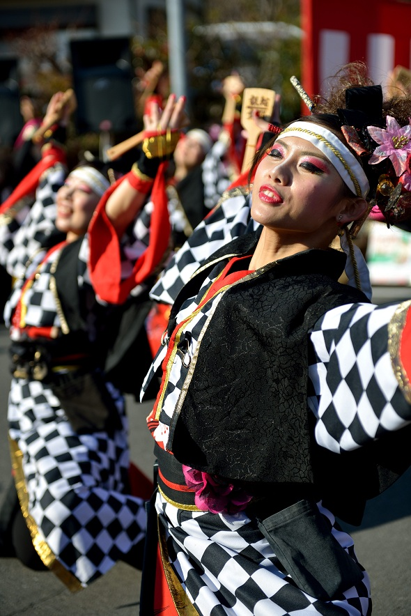 第14回吾妻さんよさこいパレード「銀輪舞隊」_f0184198_2225598.jpg