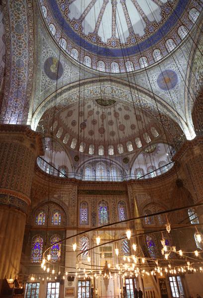 トルコ旅行  イスタンブール ブルーモスク_e0154202_0272028.jpg