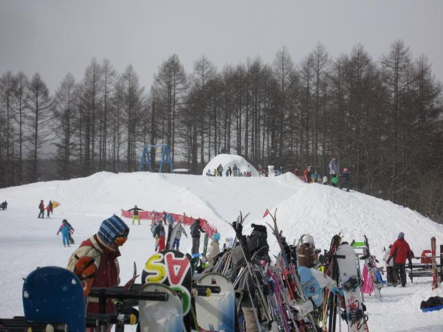 先週末のスキー場_f0146620_22422915.jpg