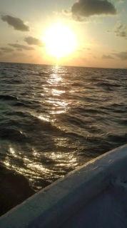 夕日が眩しいねぇ〜。_b0124144_21104151.jpg