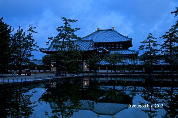 東大寺大仏殿回廊の雪化粧_e0245846_12482437.jpg