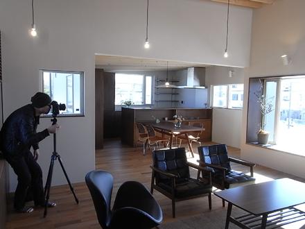 『小原田の家+アトリエ』 オープンハウス終了と写真撮影_e0197748_2012577.jpg