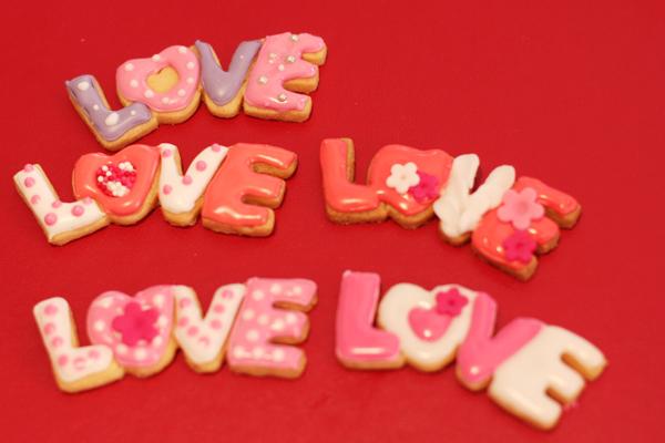 バレンタインのアイシングクッキー♡_f0149855_1710101.jpg