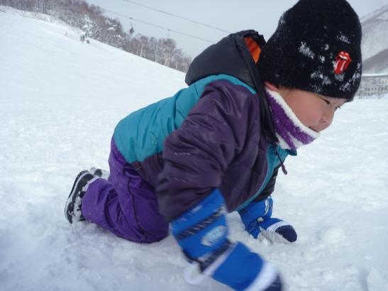 雪遊び_c0023278_16455542.jpg