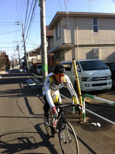 金栄堂サポート選手:日本大学自転車競技部・我妻優弥選手アイウェアインプレッション!_c0003493_11441690.jpg