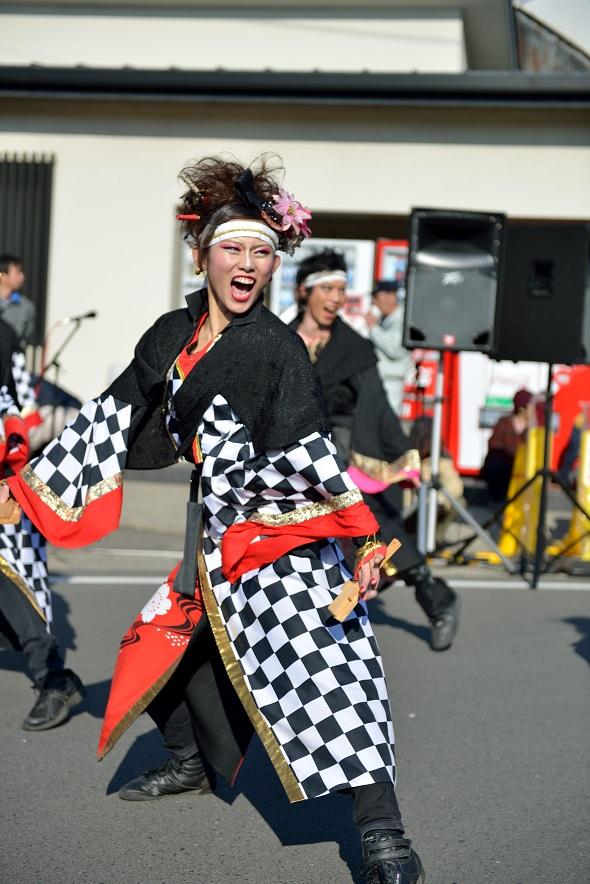 第14回吾妻さんよさこいパレード「銀輪舞隊」_f0184198_20521916.jpg