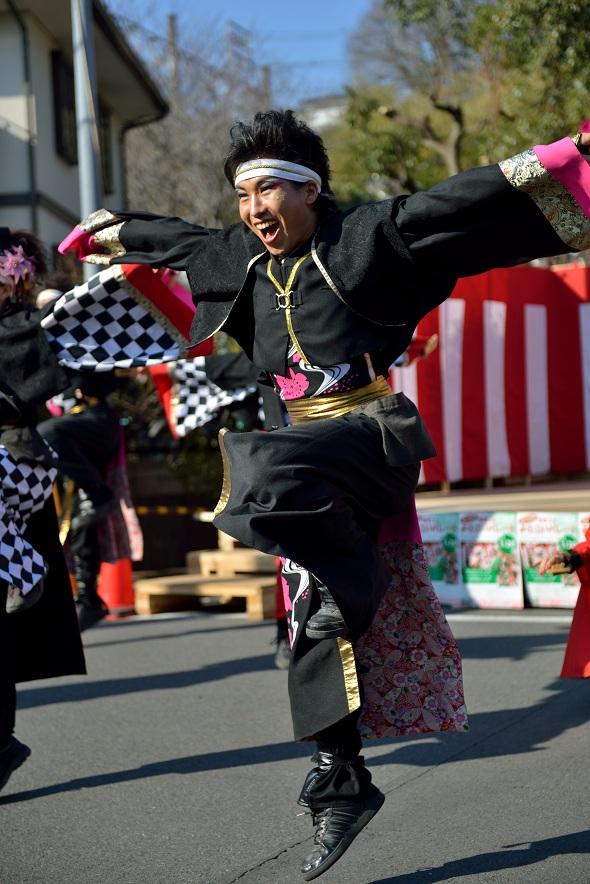 第14回吾妻さんよさこいパレード「銀輪舞隊」_f0184198_20522976.jpg