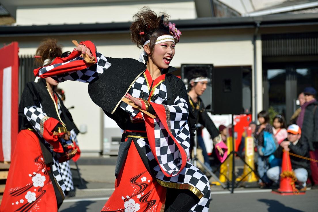 第14回吾妻さんよさこいパレード「銀輪舞隊」_f0184198_20523995.jpg