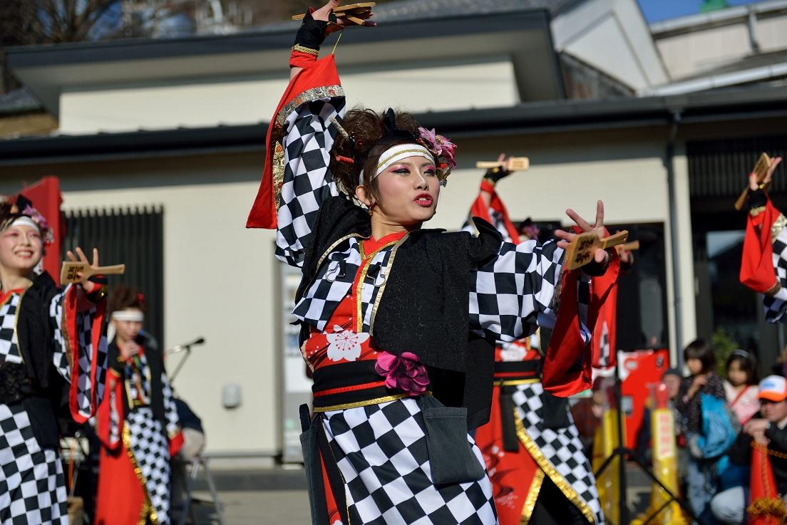 第14回吾妻さんよさこいパレード「銀輪舞隊」_f0184198_20524986.jpg