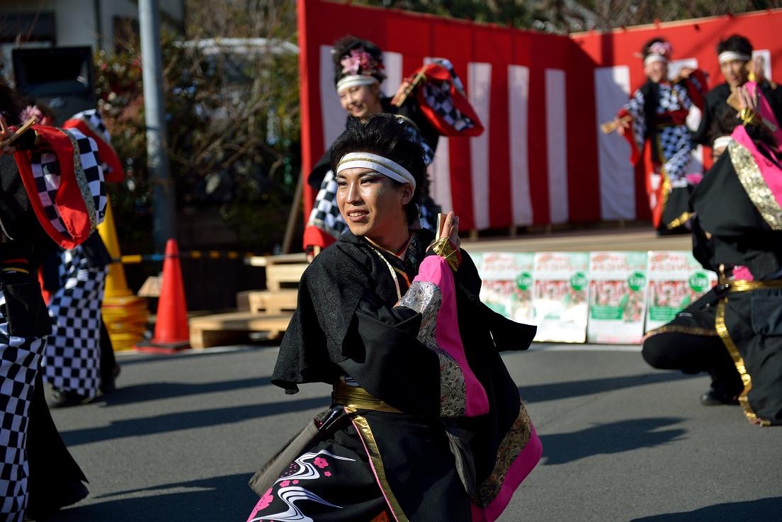第14回吾妻さんよさこいパレード「銀輪舞隊」_f0184198_2053118.jpg