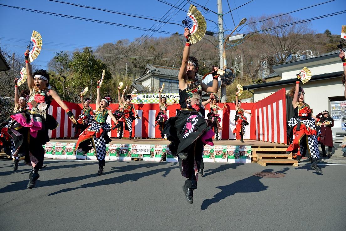 第14回吾妻さんよさこいパレード「銀輪舞隊」_f0184198_20531521.jpg