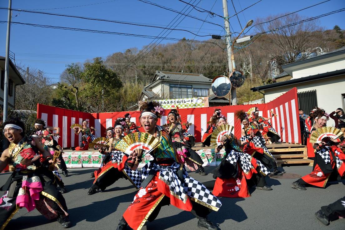 第14回吾妻さんよさこいパレード「銀輪舞隊」_f0184198_20532186.jpg