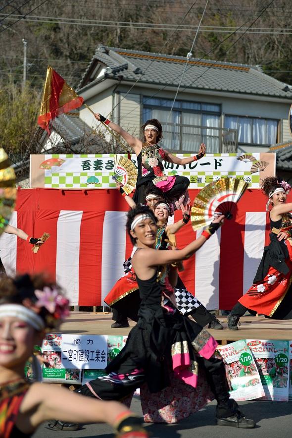 第14回吾妻さんよさこいパレード「銀輪舞隊」_f0184198_20532580.jpg