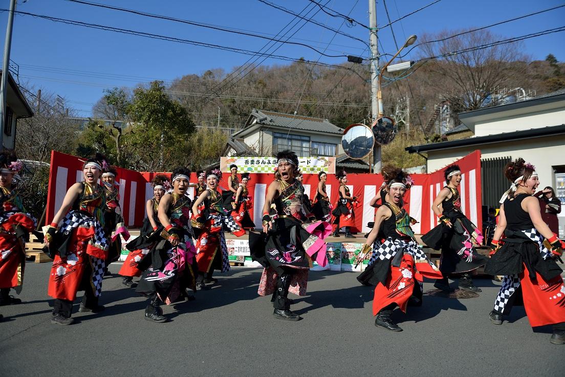 第14回吾妻さんよさこいパレード「銀輪舞隊」_f0184198_2053973.jpg