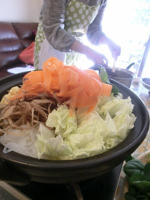 にんにく味噌味の鍋と・・・_b0180714_21152271.jpg