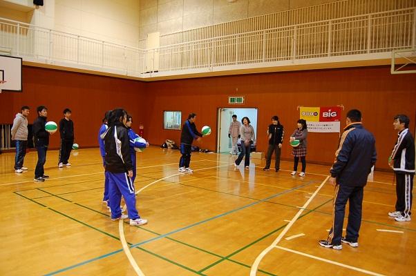 ビーチボール体験会を行いました!_d0010630_100037.jpg