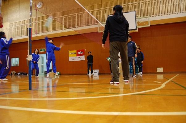 ビーチボール体験会を行いました!_d0010630_1035444.jpg