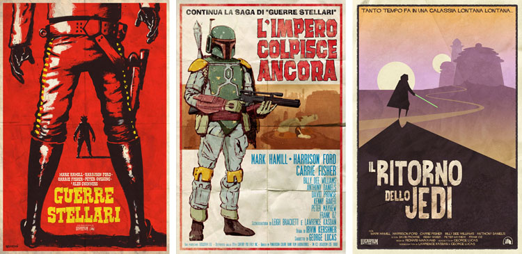 Star Wars Spaghetti Western Trilogy Set_c0155077_2094560.jpg