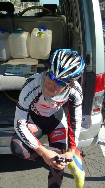金栄堂サポート選手:日本大学自転車競技部・和田力選手インプレッション!_c0003493_10551738.jpg