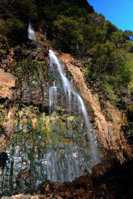 立野ダム予定地の滝_e0135098_035549.jpg