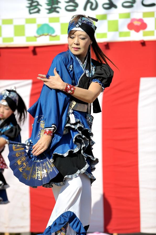 第14回吾妻さんよさこいパレード「摩耶恋」_f0184198_20501314.jpg