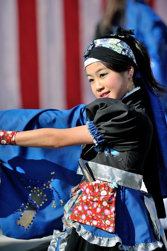 第14回吾妻さんよさこいパレード「摩耶恋」_f0184198_20504332.jpg