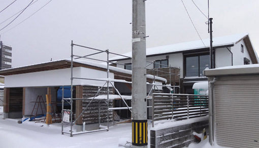 Q1住宅X3富山:施工の終盤_e0054299_1518194.jpg