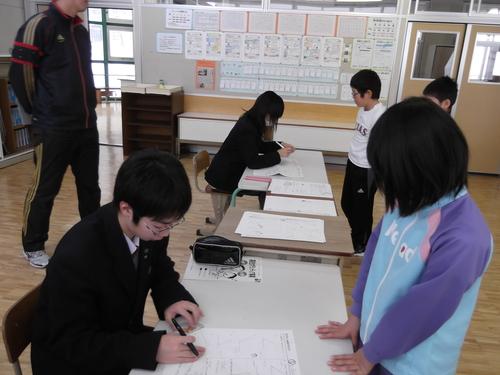 冬休み補習 高校生もお手伝い_d0162600_161039.jpg