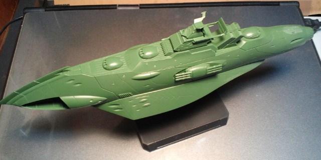 1/1000  大ガミラス帝国航宙艦隊  ガミラス艦セット 1_d0009833_23481282.jpg
