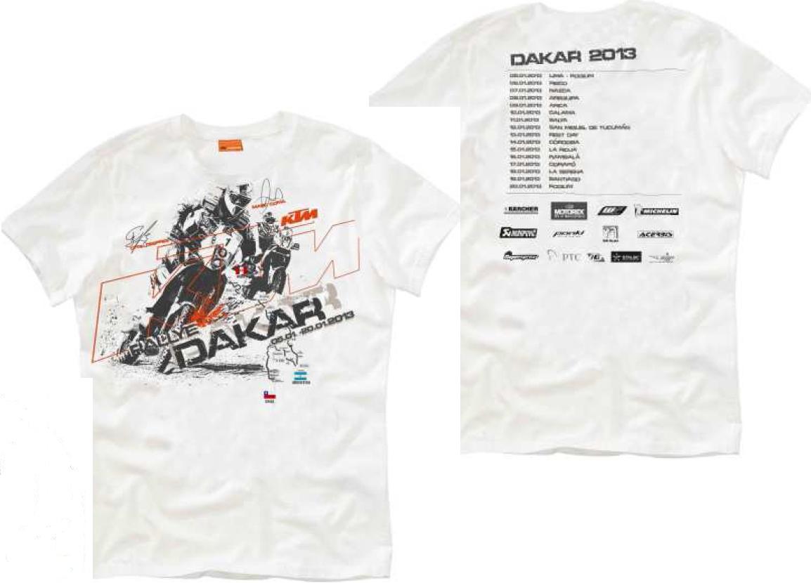 2013ダカールラりー Tシャツ_d0111435_20343782.jpg