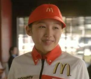 マクドナルド CM 朝マック 早起きの女の子の名前は青山美郷さんの画像と動画_e0192740_1934980.jpg