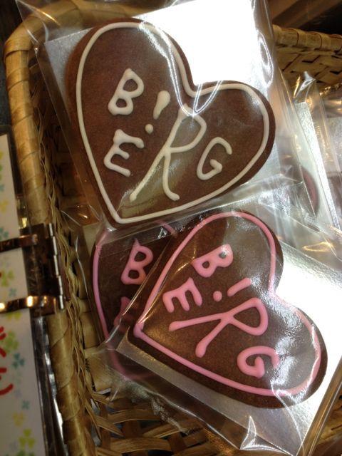 ベルクロゴクッキーにハートバージョン新登場♡_c0069047_1224335.jpg