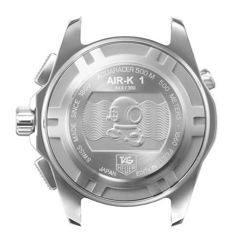 錦織圭選手:タグ・ホイヤーアクアレーサー クロノグラフ Air-K 日本限定モデル_f0039351_16145363.jpg