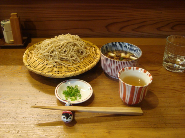 神楽坂「巽蕎麦 志ま平」へ行く。_f0232060_18303021.jpg